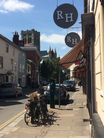 Roger Hickman's fine dining restaurant in Norwich