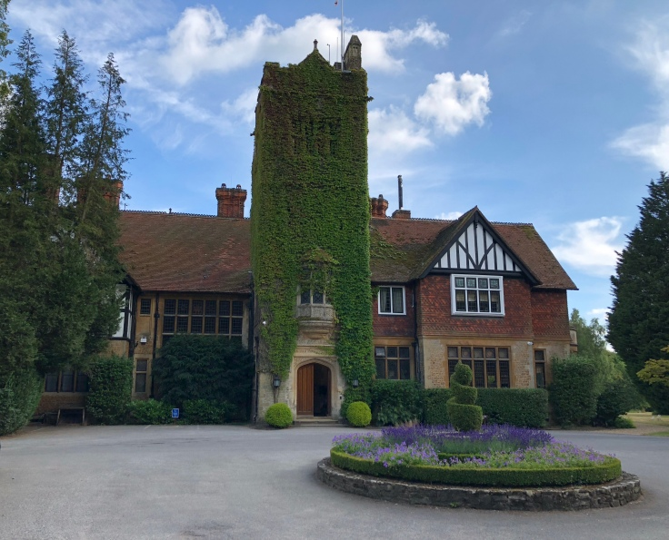 Grayshott Spa in Surrey - front of main house - picture from my review