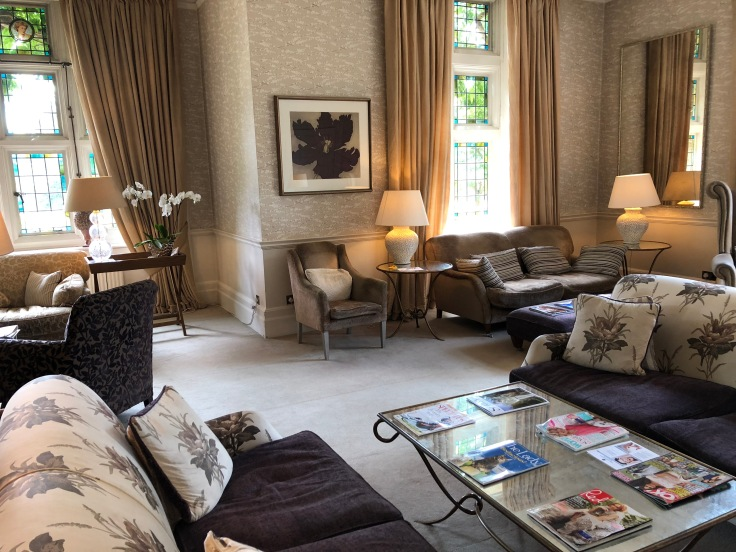 Drawing room at Grayshott Spa in Surrey - picture from my review