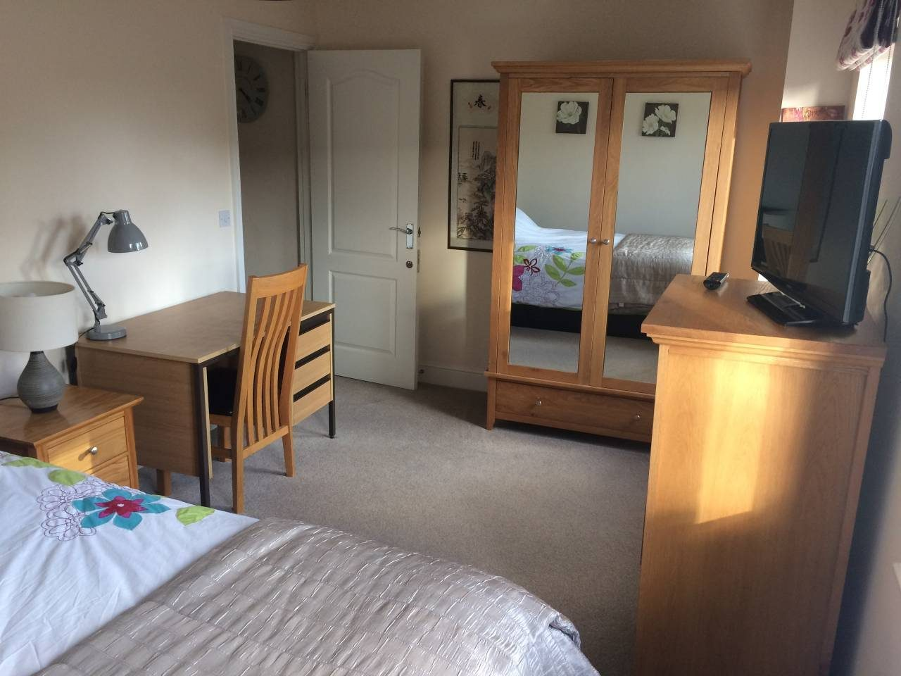 Picture of my guest bedroom that I rent out on Airbnb in Norwich, Norfolk